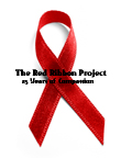 The Red Ribbob Project recognizing HIV/AIDS