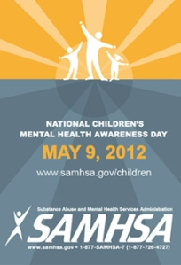 National Childrens Mental Health Awareness Day 2012 Flyer