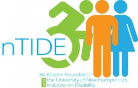nTIDE Logo (by Kessler Foundation and University of New Hampshire's Institute on Disability)